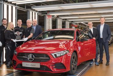 Mercedes-Benz a demarat producția noului model Clasa A