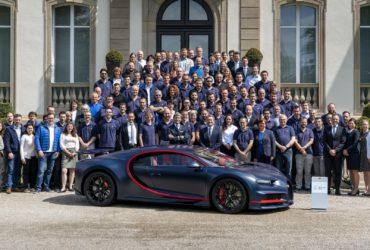 Bugatti a construit 100 de unități ale modelului Chiron