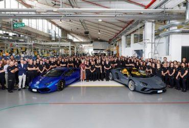 Lamborghini a produs 8.000 de unități ale modelului Aventador