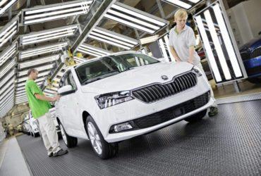Škoda a demarat producția noului automobil Fabia
