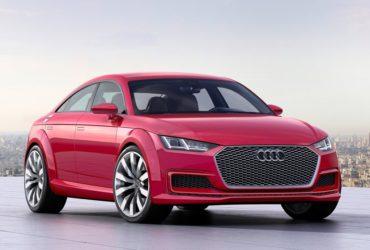 Audi TT s-ar putea transforma într-un coupé cu patru uși