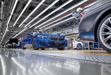 Primul BMW Seria 8 Cabriolet a părăsit linia de asamblare