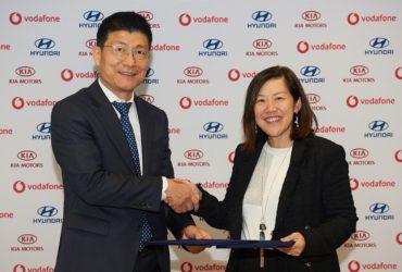 Hyundai și Kia anunță încheierea unui parteneriat paneuropean cu Vodafone