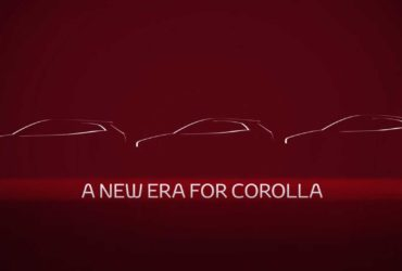 Noul sedan Toyota Corolla va debuta săptămâna viitoare
