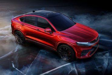 Geely a dezvăluit un SUV coupé susținut de platforma utilizată de Volvo XC40