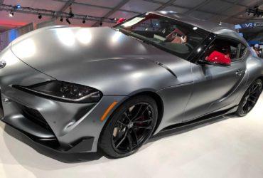 Primul exemplar Toyota Supra din noua generație a fost vândut la licitație