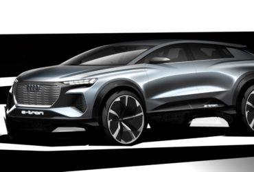 Audi a dezvăluit primele schițe ale conceptului Q4 e-tron