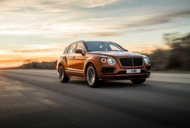 Bentley anunță că Bentayga Speed este cel mai rapid SUV de serie din lume
