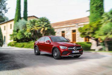 Mercedes-Benz dezvăluie actualizările aduse SUV-ului GLC Coupé