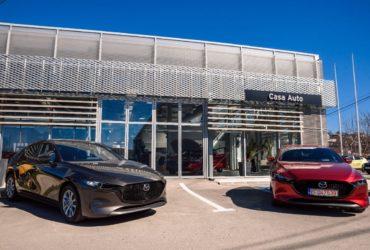 Noua Mazda3 – Maşina viitorului prezentată ca artă!