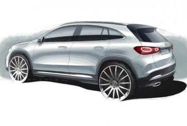 Noul Mercedes-Benz GLA se pregătește pentru debutul oficial